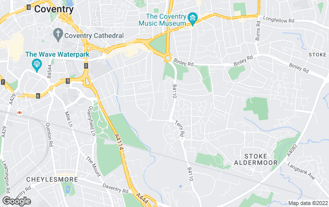 Map for FLEXSPACE, Coventry