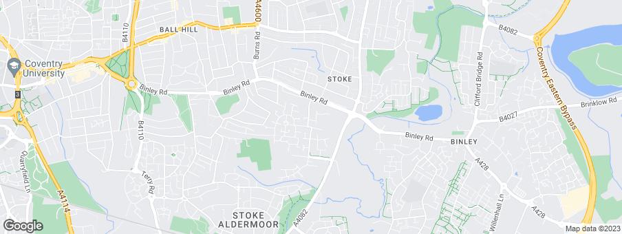 Map for Morris Homes Ltd