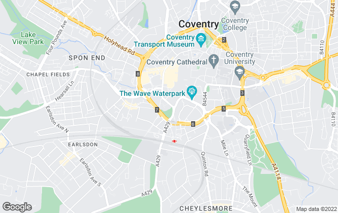 Map for Your Move , Coventry