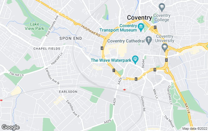 Map for Croft Property Management, Coventry