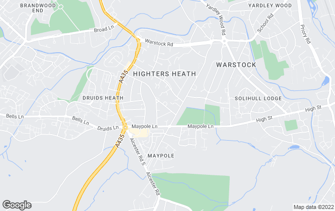 Map for Leaders Sales & Lettings, Maypole