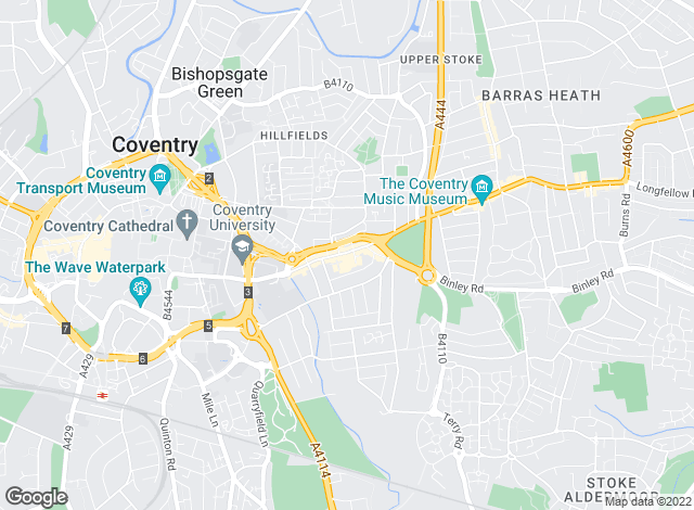 Map for Envisage Sales & Lettings, Coventry - Sales & Lettings