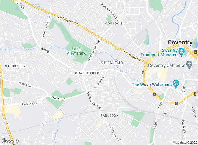 Map for Complete Residential Sales and Lettings Ltd, Coventry