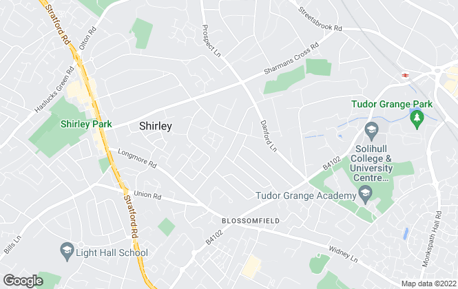 Map for DM & Co. Homes, Solihull
