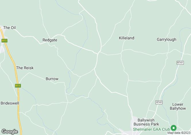 Map for Lacken, killmallock, Castlebridge, Wexford