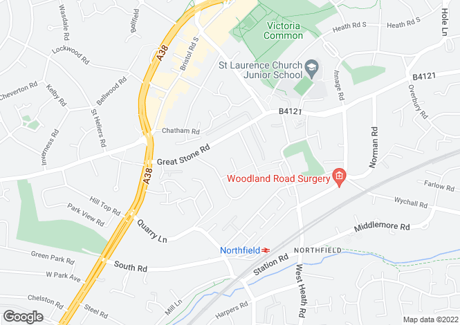 Map for Lichfield at Oakville Place, Hole Lane,