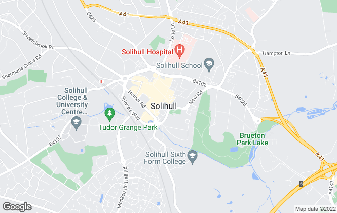 Map for Ruxton Independent Estate Agents & Valuers, Solihull