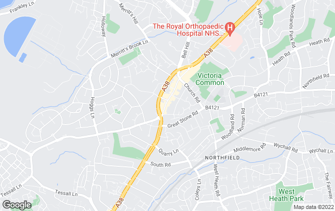 Map for Dixons, Northfield