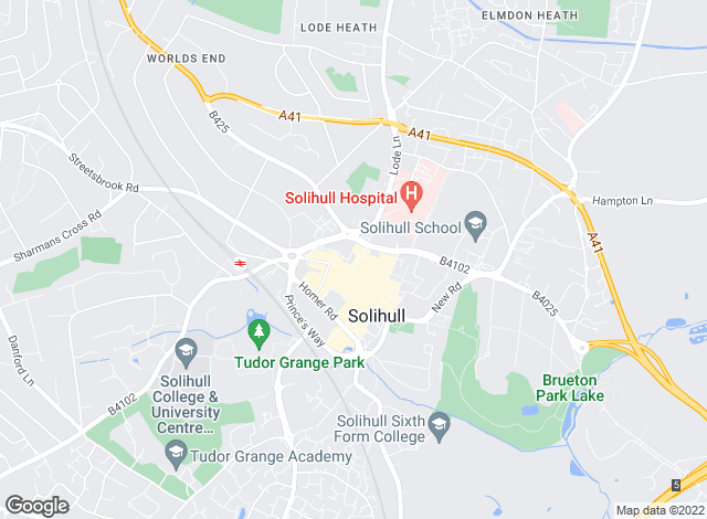 Map for Dixons, Solihull