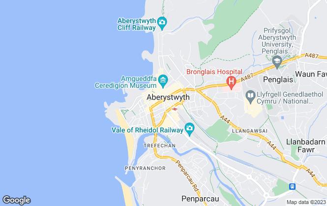 Map for Lloyd, Herbert & Jones, Aberystwyth