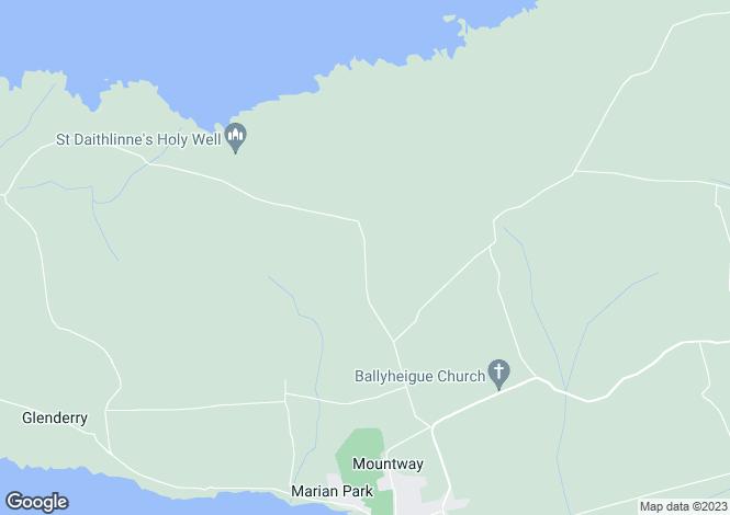 Map for Glenlea, Ballyheigue, County Kerry V92 R718