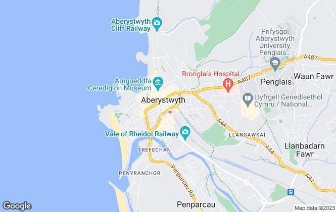 Map for John Francis, Aberystwyth
