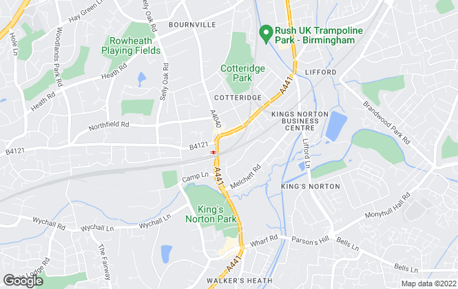 Map for Leaders, Kings Norton