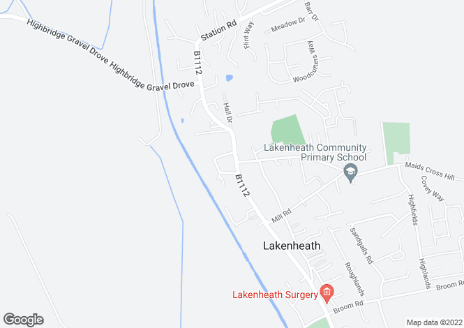 Map for LAKENHEATH