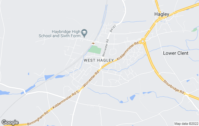 Map for The Lee Shaw Partnership, Hagley - Commercial