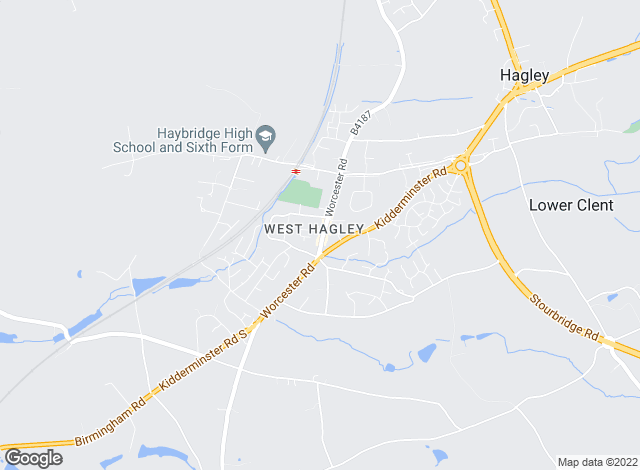Map for Shipways, Hagley