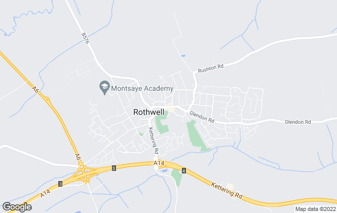 Map for William H. Brown, Rothwell