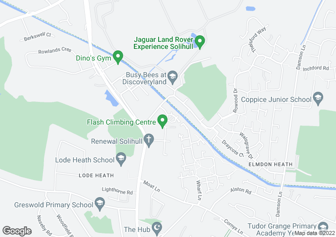 Map for Laxton Grove, Solihull, Birmingham, West Midlands