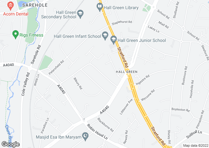 Map for EMERSON at The Moorlands, Sherwood Road,