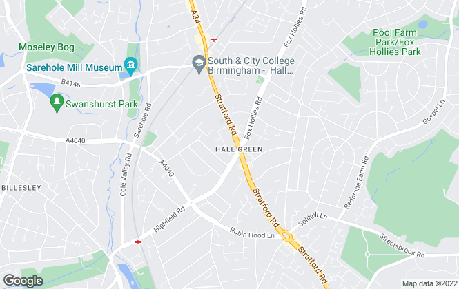 Map for Right Estate Agents, Birmingham
