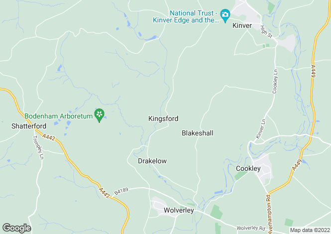 Map for Pinewoods