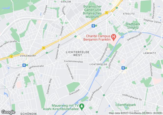 Map for Berlin,Wedding, Germany