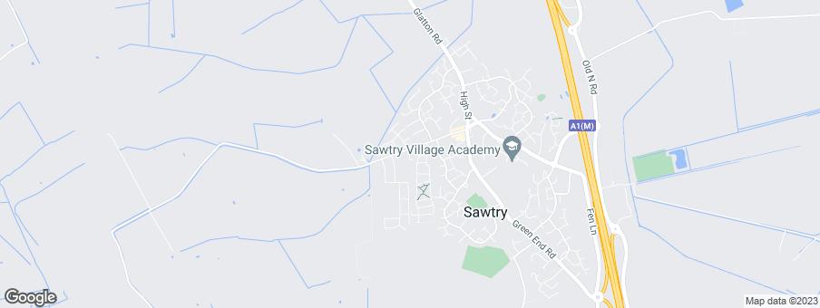 Map for Bovis Homes East Midlands