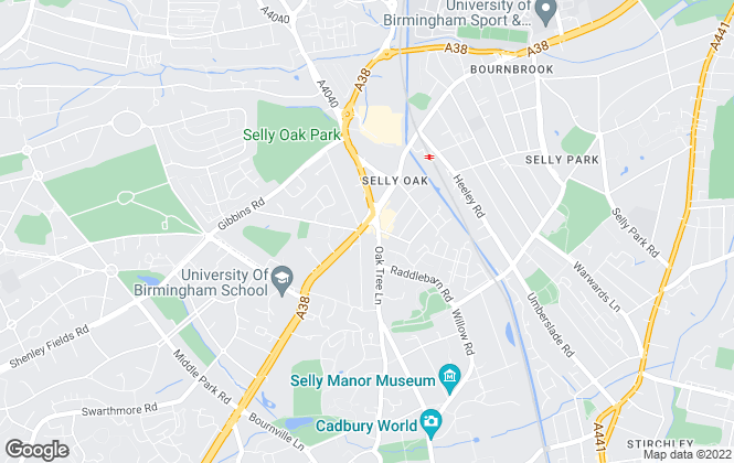Map for Dixons Lettings, Selly Oak - Lettings