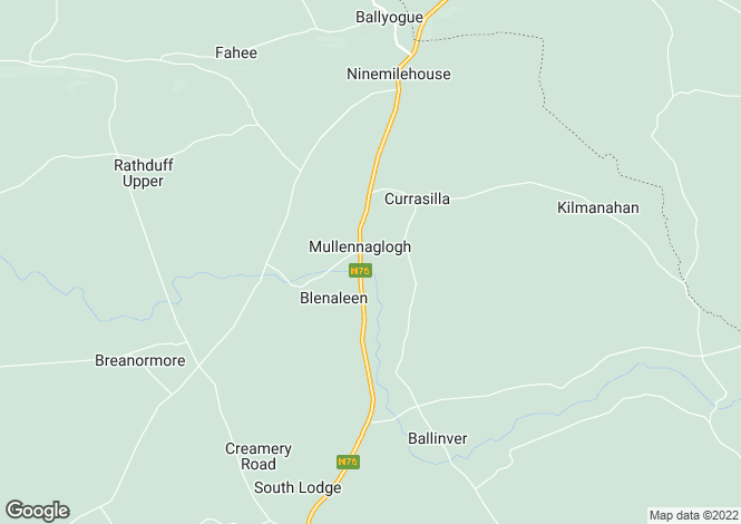 Map for 4 Slieveardagh, Grangemockler, Tipperary