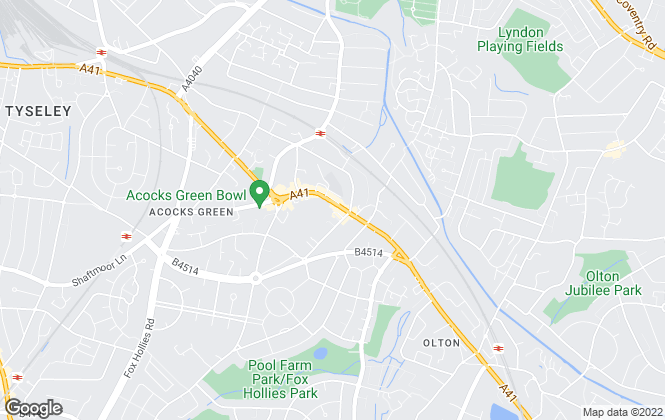Map for My Personal Estate Agent, Birmingham