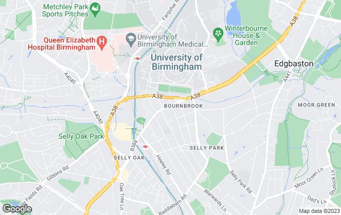 Map for Broad Court Property Management, Birmingham