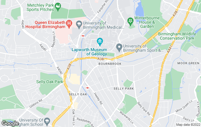 Map for Direct Housing, Birmingham - Lettings