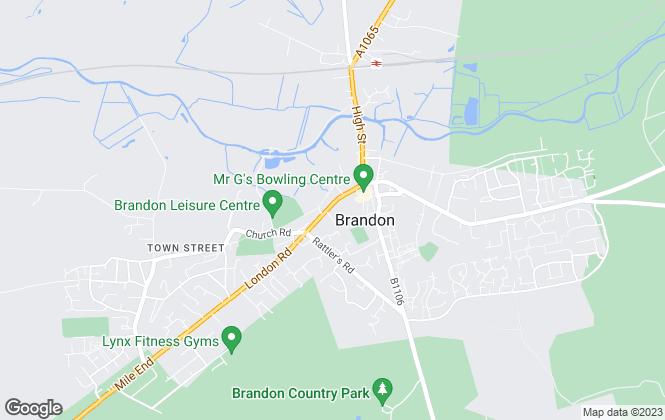 Map for Mac Estates, Brandon