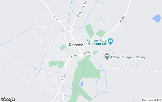 Map for Sharman Quinney, Ramsey