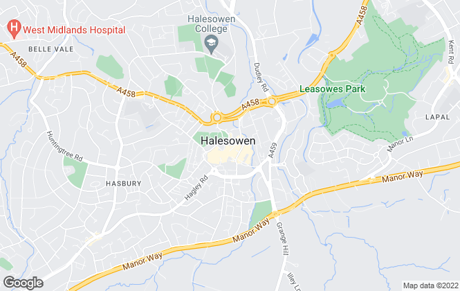 Map for Dixons, Halesowen