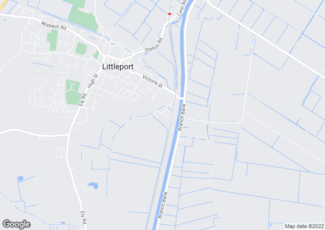 Map for Fishers Bank, Littleport, Ely, Cambridgeshire