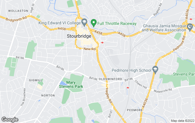 Map for The Lee Shaw Partnership, Stourbridge