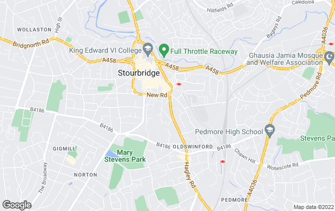 Map for Ian Perks Estate Agents, Stourbridge