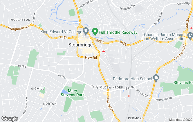 Map for Billingham Cooke Estate Agents, Stourbridge