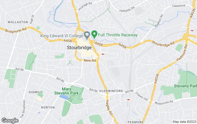 Map for Walton & Hipkiss, Stourbridge