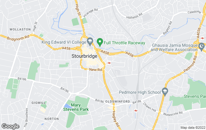 Map for The Property Shop, Stourbridge