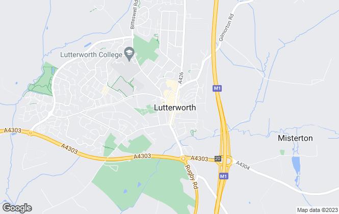 Map for Charles Kimbell International, Lutterworth