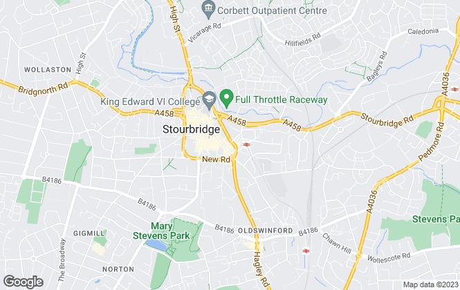 Map for Andrew Grant, Stourbridge