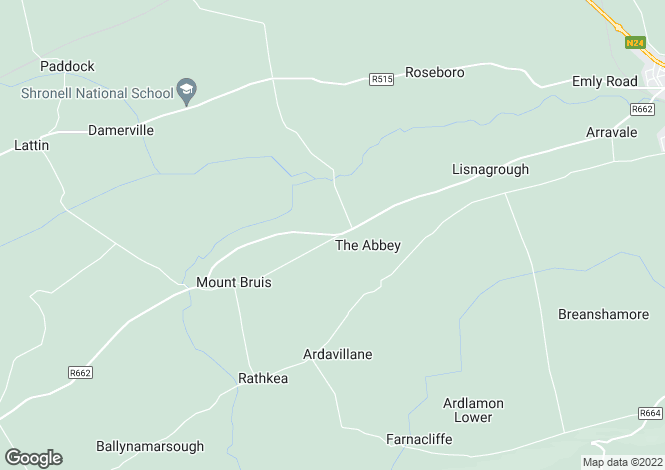 Map for Ballinahow House, Tipperary, Co. Tipperary