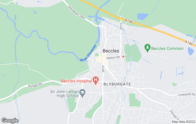 Map for Musker McIntyre, Beccles