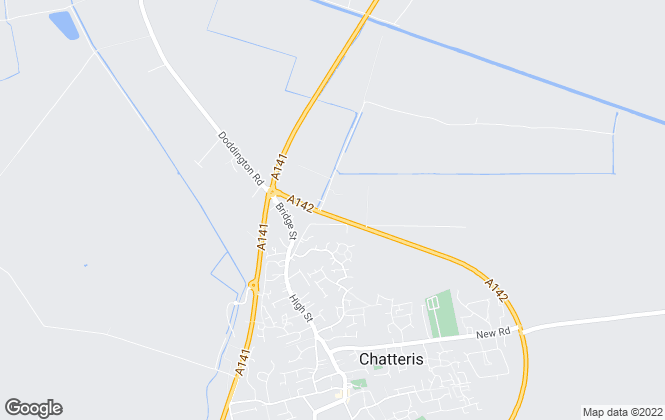 Map for Ahuja Holdings, Chatteris