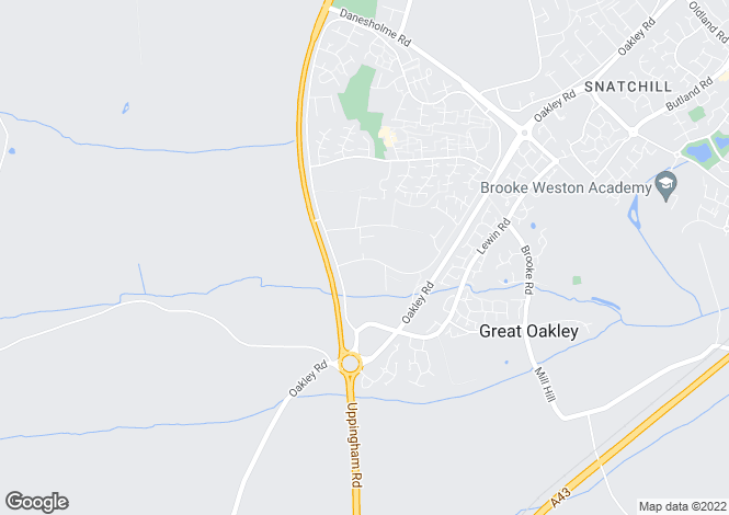 Map for Saxon Way East, Oakley Hay Industrial Estate, CORBY, Northamptonshire