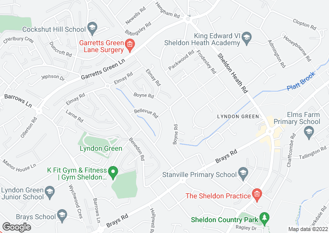 Map for The Lincoln - Chestnut Grange at Chestnut Grange, Lilleshall Road,