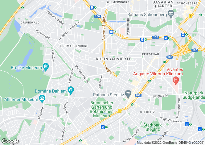 Map for Spilstrasse 6a, Berlin, Zehlendorf (Berlin), Germany
