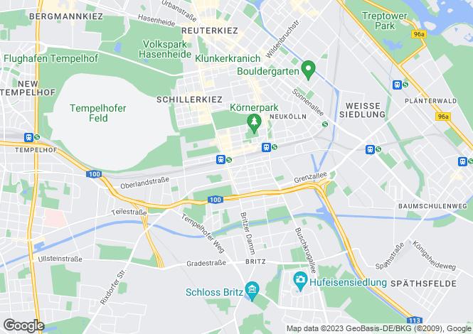 Map for Silbersteinstr. 51, Berlin, Neukölln (Berlin), Germany